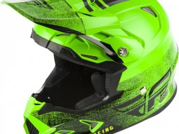 Casque cross Fly Racing Toxin Mips Embargo vert / noir