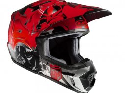 Casque cross HJC CS-MX II GRAFFED MC1SF