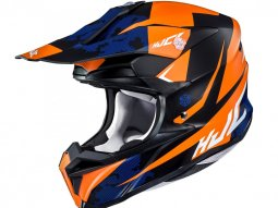Casque cross HJC I50 Tona noir / orange
