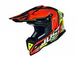 Casque cross Just1 J12 Aster orange / jaune