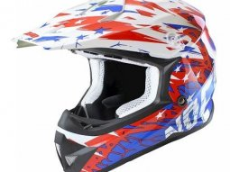 Casque Cross Noend Cracked USA