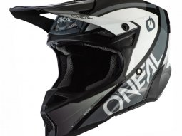 Casque cross ONeal 10SRS Hyperlite Core noir / gris