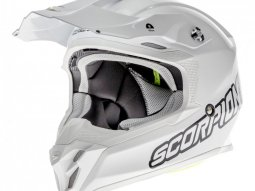 Casque cross Scorpion VX-16 Air blanc / blanc