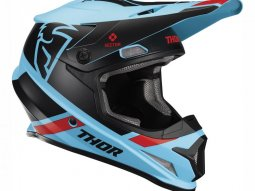 Casque cross Thor Sector Split Mips bleu / noir