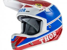 Casque Cross Thor Verge Pro Gp Bleu / Rouge