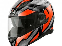 Casque intégral Airoh Movement S Steel orange