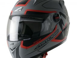 Casque Intégral Astone Gt Graphic Exclusive Scorpio gris mat