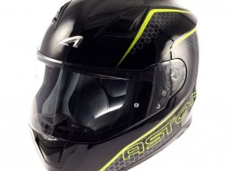 Casque intégral Astone GT900 exclusive PULSE jaune