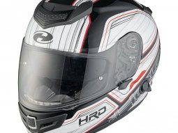 Casque intégral Held Brave II blanc / rouge