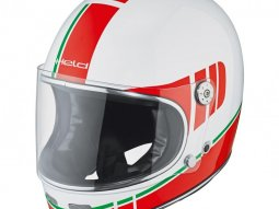 Casque intégral Held Root blanc / rouge