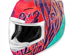 Casque intégral Icon Airmada WildChild orange