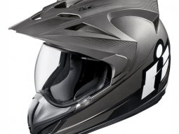 Casque intégral Icon Double Stack Variant noir