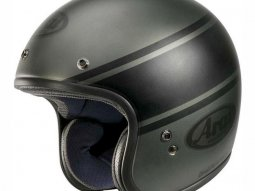 Casque jet Arai FREEWAY CLASSIC Bandage Green
