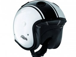 Casque jet Caberg Doom Legend blanc / noir