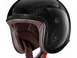 Casque jet Caberg Freeride carbone