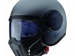 Casque jet Caberg Ghost mat gun metal