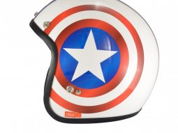 Casque jet Chok Patriot
