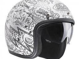 Casque jet HJC FG-70s MACHU MC10SF