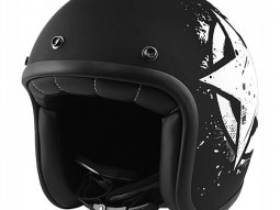 Casque Jet Noend Tribute star black