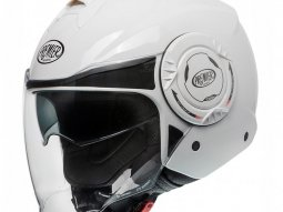 Casque jet Premier Cool U8 blanc brillant