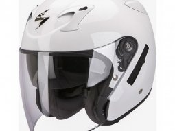 Casque jet Scorpion EXO-220 Blanc