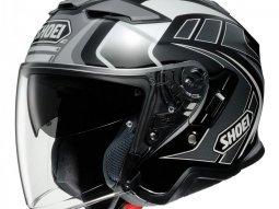 Casque jet Shoei J-Cruise II Aglero TC-5 gris / noir