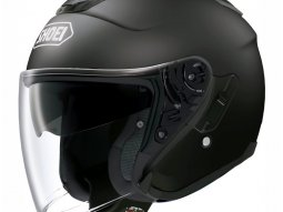 Casque jet Shoei J-Cruise noir mat