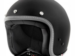 Casque jet Vespa Colors noir