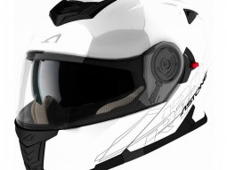 Casque Modulable Astone Rt 1200 Mono blanc gloss