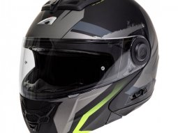 Casque modulable Astone RT800 exclusive ENERGY mat noir / jaune