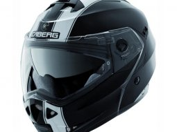 Casque modulable Caberg DUKE II LEGEND noir / blanc
