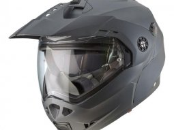 Casque modulable Caberg Tourmax Uni gris anthracite mat