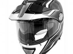 Casque modulable Givi X.33 Canyon Layers noir / blanc