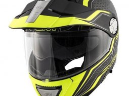 Casque modulable Givi X.33 Canyon Layers noir mat / jaune