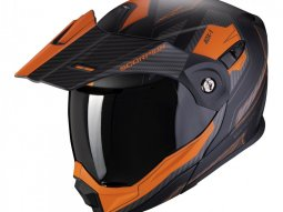 Casque modulable Scorpion ADX-1 Tucson noir / orange mat