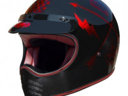 Casque Premier MX NX rouge chrome