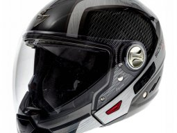 Casque transformable Scorpion EXO-300 AIR GRID Anthracite Métal Alu -