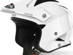 Casque trial Airoh TRR S Color blanc