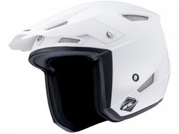 Casque trial Kenny Trial-up blanc