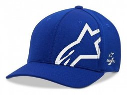 Casquette Alpinestars Corp Shift Sonic Tech royal blue / blanc