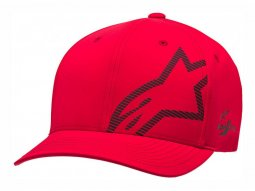 Casquette Alpinestars Corp Shift WP Tech rouge / noir