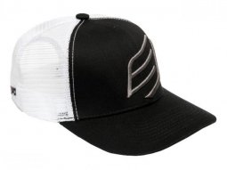Casquette Bud Racing Big Icon blanc / noir