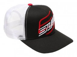 Casquette Bud Racing Double blanc / rouge