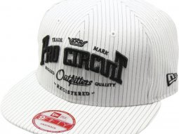 Casquette Pro Circuit Outfitters New Era blanc