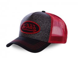 Casquette Von Dutch Flak Rouge
