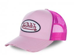 Casquette Von Dutch Fresh rose