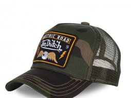 Casquette Von Dutch Square camo
