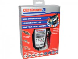 Chargeur batterie 12V Tecmate Optimate 3