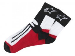 Chaussettes Alpinestars Racing Road Socks noir / rouge