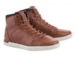 Chaussures moto Alpinestars J-Cult marron